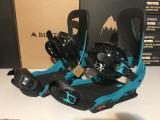 Legaturi snowboard noi Burton Cartel  Blue Reflex M
