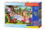 Puzzle maxi Alice in Tara Minunilor, 40 piese, castorland