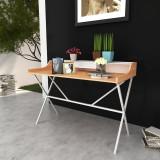 Birou de calculator masă de lucru din lemn, natural
