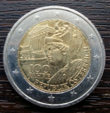 (M2027) MONEDA AUSTRIA - 2 EURO 2018, 100 ANI DE LA INFIINTAREA REPUBLICII