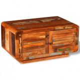 Măsuță de cafea din lemn masiv reciclat 80 x 50 x 40 cm