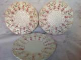 Set 3 farfurii vechi majolica
