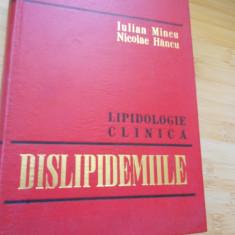 IULIAN MINCU--DISLIPIDEMIILE
