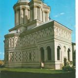 (A)carte postala(ilustrata)-MEHEDINTI-Manastirea Gura Motrului, Circulata, Printata