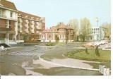 (A)carte postala(ilustrata)-NASAUD-Bistrita-Hotel Coroana de aur, Necirculata, Printata