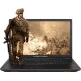 Laptop ASUS Gaming 17.3 ROG GL753VE, FHD, Intel Core i7-7700HQ , 8GB DDR4, 1TB + 128GB SSD, GeForce GTX 1050 Ti 4GB, Endless OS