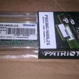 Un modul Patriot 8 gb ddr3 la 1600 Mhz sigilat