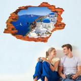 Sticker perete Grecia 3D 60 x 90 cm