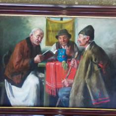 TABLOU HORVATH G ANDOR, Portrete, Ulei, Impresionism
