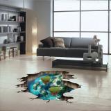Sticker 3D ocean
