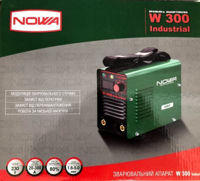 Aparat sudura Invertor Nowa 300 Ah -Afisaj electronic foto