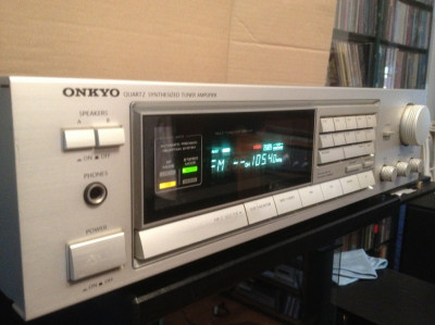 Amplificator/Receiver Stereo HiFi model ONKYO TX -7600 - Impecabil/Vintage/JAPAN foto