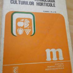 M. MIHALACHE--TEHNOLOGIA CULTURILOR HORTICOLE - 1977