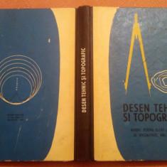 Desen Tehnic Si Topografic - I. Plesa, V. Ceausescu, 1971