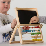 Abac pentru Copii cu Tablă Dublă