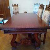 Vand mobila din lemn masiv pentru sufragerie, produsa la Arad.
