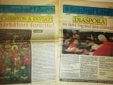 Cumpara ieftin RARE =LOT 2 ZIARE VECHI ROMANUL LIBER -1993 ZIARUL UNIUNII MONDIALE A ROMANILOR
