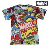Tricou cu Mânecă Scurtă pentru Copii Marvel 1225 (mărime 12 ani)