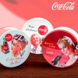 Cutie Vintage Metalică Rotundă Coca-Cola