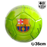 Minge de Fotbal Mini Galbenă F.C. Barcelona