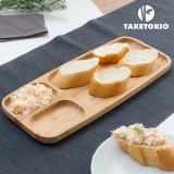 Tavă din Bambus cu Compartimente TakeTokio
