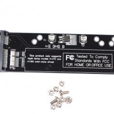 Adaptor convertor 12+6 pini SSD HDD SATA 22 pinMacbook 2010 2011 Air A1370 A1369