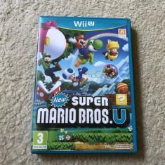 Joc Nintendo WII U New Super Mario Bros U la carcasa