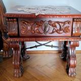 Vand dormitor din lemn masiv, produs la Arad.