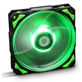 Ventilator de Unitate NOX NXHUMMERF120LG HFAN 12 cm LED Verde