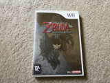Joc Nintendo WII The Legend Of Zelda Twilight Princess la carcasa,engleza,testat