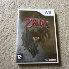 Joc Nintendo WII The Legend Of Zelda Twilight Princess la carcasa,engleza,testat