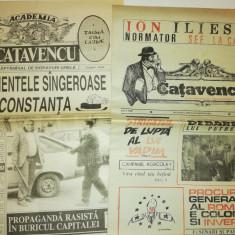 LOT 10 ZIARE / ZIAR VECHI CATAVENCU -1991