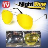 Ochelari Night Vision - Ochelarii pentru condus noaptea, Plastic, Galben
