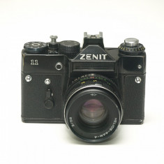 Zenit 11 cu obiectiv Helios 44m-4