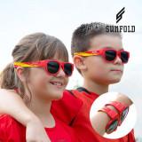 Ochelari de Soare Pliabili pentru Copii Sunfold Kids Mondial Spain