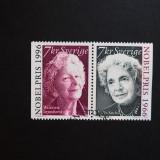 Suedia - Nobel Literatura (2000) (serie completa), Stampilat