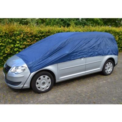 Prelata auto rezistenta din nylon, protectie parbriz, geamuri si luneta, XL foto