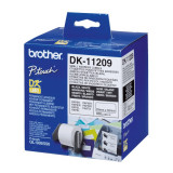 Etichete pentru Imprimantă Brother DK11209 62 x 29 mm Alb