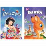 2 Povesti: Alba ca Zapada si Bambi