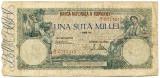100000 lei 1946, 1 aprilie, stare F