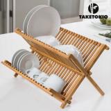 Uscător de Vase din Bambus TakeTokio