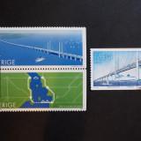 Suedia - Podul Oresund (2000) (serie completa), Stampilat