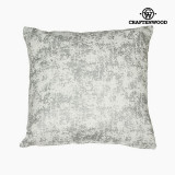 Fotoliu tip Puf Argintiu (90 x 90 x 25 cm) by Craftenwood