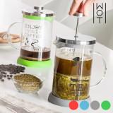 Ceainic-Cafetieră cu Capac și Filtru Piston Wagon Trend