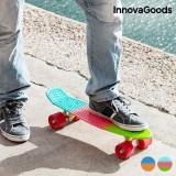 Skateboard Mini Cruiser InnovaGoods (4 Roți)
