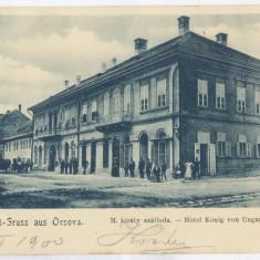 3684 - ORSOVA, Romania, Litho - old postcard - used - 1900, Circulata, Printata