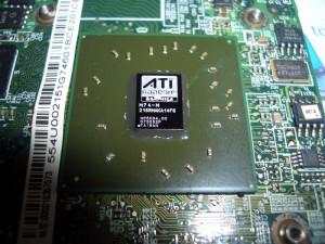 placa video Acer Travelmate 7520 7520G 5520G 5720G 7720G AMD Radeon HD 2400 XT