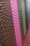Paravan de cameră pliabil din bambus