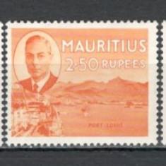 Mauritius.1950 Regele George VI si motive traditionale  5 buc.  PM.84