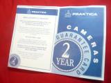 Certificat Garantie- pt Aparat Foto Praktica Pentacon Germania
